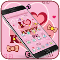 Kitty Princess Pink Butterfly theme icon