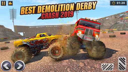 Real Monster Truck Demolition Derby Crash Stunts apkpoly screenshots 12