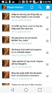 Prayer Warrior- Ad Free- screenshot thumbnail