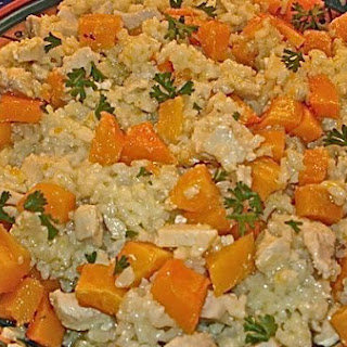 Butternut, Chicken and Feta Risotto