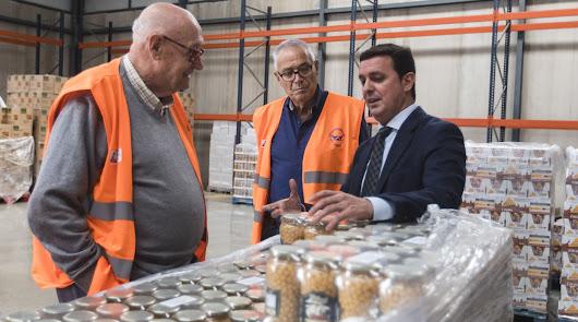 La Diputación hace un llamamiento para la gran recogida de alimentos de este mes