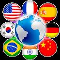 Multi Language Translator and translate document icon