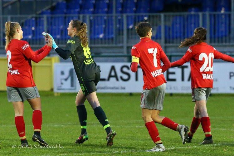 Standard klopt OH Leuven en is (voorlopig) alleen leider in Super League
