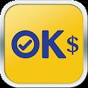 OK $ icon