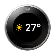 Nest thermostat farsight weather temperature