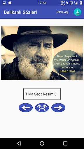 Delikanlı Sözleri RESİMLİ 300+ 1.0 screenshots 1
