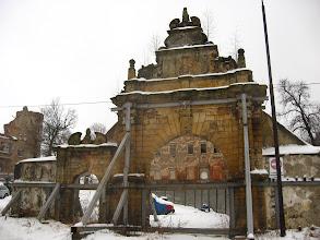 Photo: Stajemy u progu manierystycznej brama z lat 1610-1622.