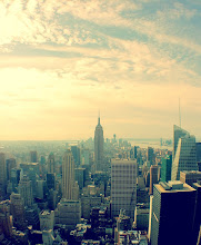 Photo: Downtown from Top of the Rock (Cross-Process)