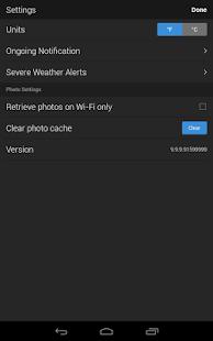 App Yahoo Weather APK for Windows Phone