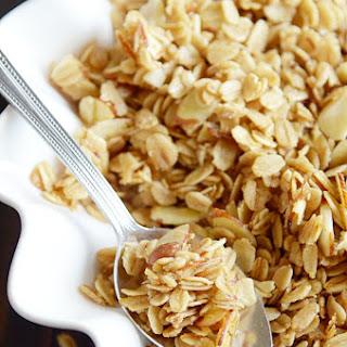 Quick & Easy Vanilla Almond Granola