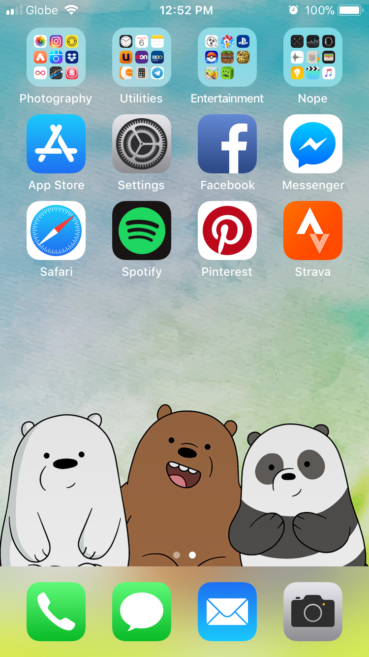 We Bare Bears iPhone Wallpaper Free Download