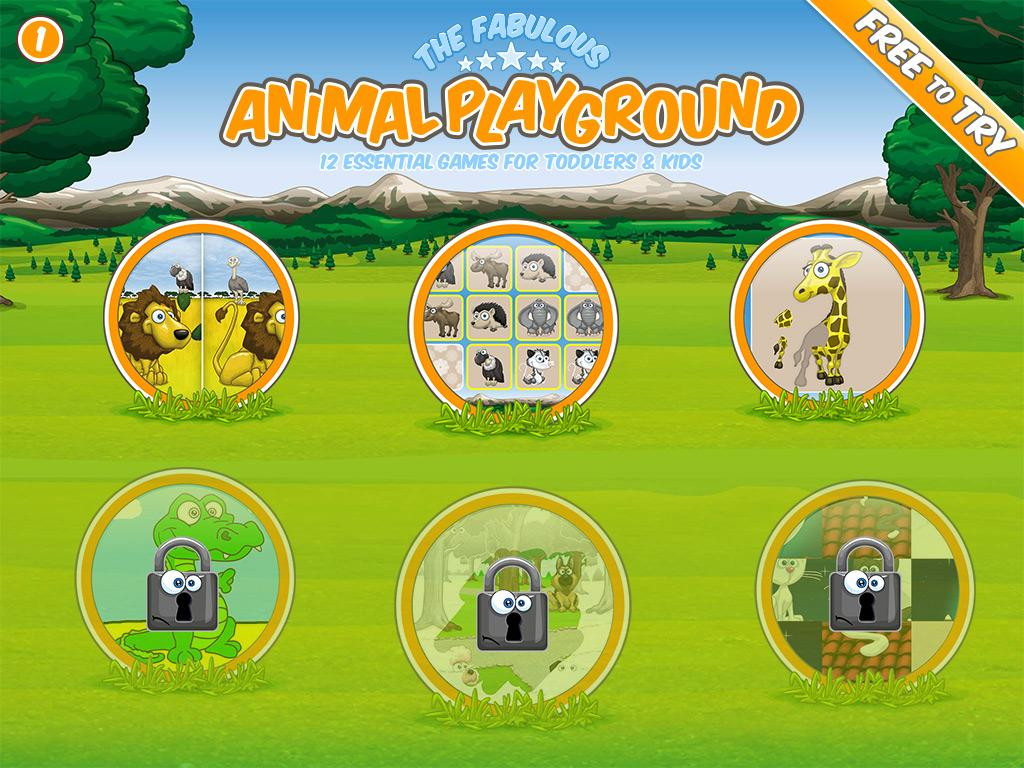 6 free animal games for kids android apps on google play