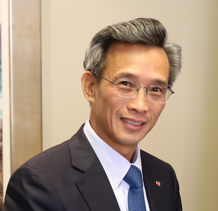 HE Ambassador Lin Songtian of China to SA. Picture: SUPPLIED