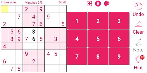 Sudoku 2.3.3.1 screenshots 6