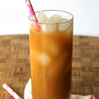 Dairy-Free Vanilla Iced Coffee.
