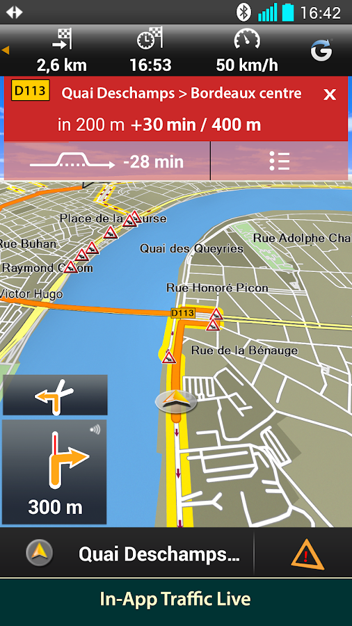 Garmin Hud Europe Screenshot