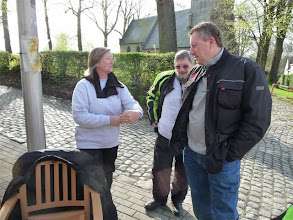 Photo: koffiepauze in Itterbeek