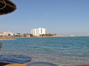 Photo: Looking north towards other hotels on the beach