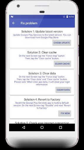 Fix Play Service 2019- Check new update 1.3 screenshots 1
