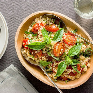 Fregola With Tomatoes And Basil.
