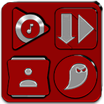 Red Icon Pack v5.3 (Free) 5.3