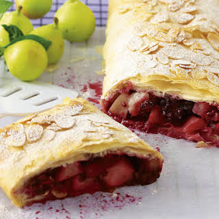 Pear and Blackberry Strudel.