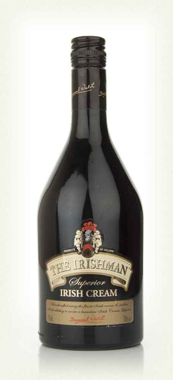 Logo for The Irishman Irish Cream