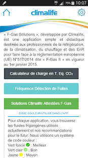 F-Gas Solutions Capture d'écran