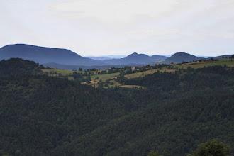 Photo: J27 : Chales, au delà de la vallée de l'Andrable