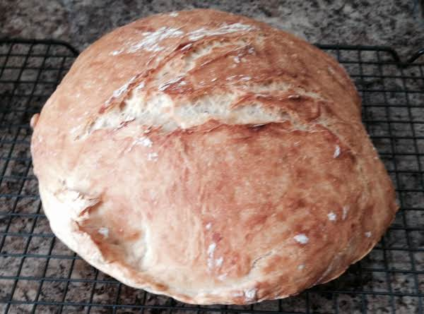 Dutch Oven Crusty Artisan Bread Recipe