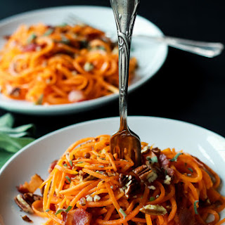 Sweet Potato Noodles with Sage Brown Butter Sauce
