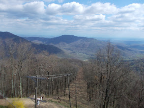 Photo: Looking around from the fire tower
