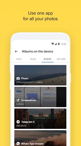 Yandex.Disk 4.15.0 screenshots 2