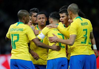 Brazilië wint Copa América ondanks rood voor ziedende Jesus