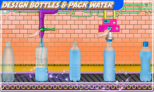 Mineral Water Factory: Pure Water Bottle Games 1.0 screenshots 1