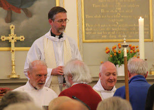 Photo: A celebration of the Meissen Agreement between the Church of England and the German Protestant Churches was held in the Anglican Church.