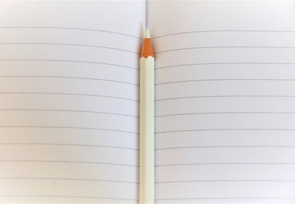 La matita bianca di emanuela_terzi
