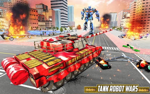 Tank Robot Car Game 2020 u2013 Robot Dinosaur Games 3d 1.0.5 screenshots 1