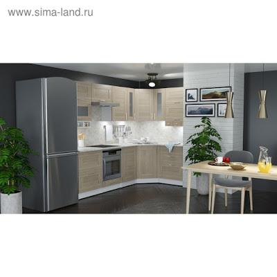 Кухонный гарнитур Лира гранд оптима 2600*1500