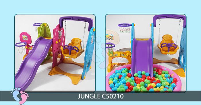 Cầu trượt cho bé Jungle C50210 7