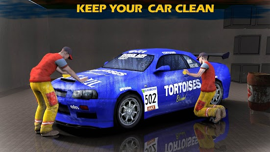 Sports Car Mechanic Workshop 3D - náhled