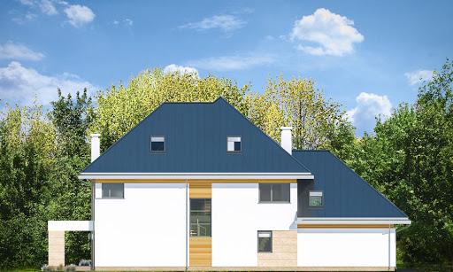 Dom z widokiem 2 C - Elewacja tylna