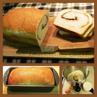 Oatmeal Cinnamon Bread.