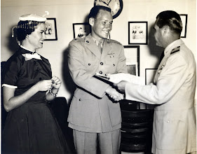 Photo: Graduation and commisioning 2nd Lt. Patrick Alonzo Tillery 1956