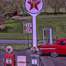 Fill Er Up by Gwen Paton - Buildings & Architecture Other Interior (  )