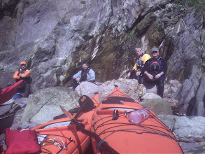 Photo: Lunch stop next to St David's Lifeboat Station