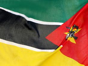 Photo: Flag of Mozambique