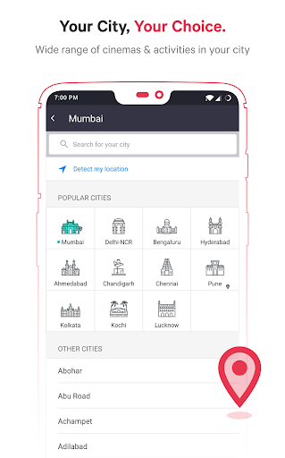 BookMyShow - Movies, Events & Sports Match Tickets  screenshots 4