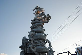 Photo: statua ad un'altra rotonda