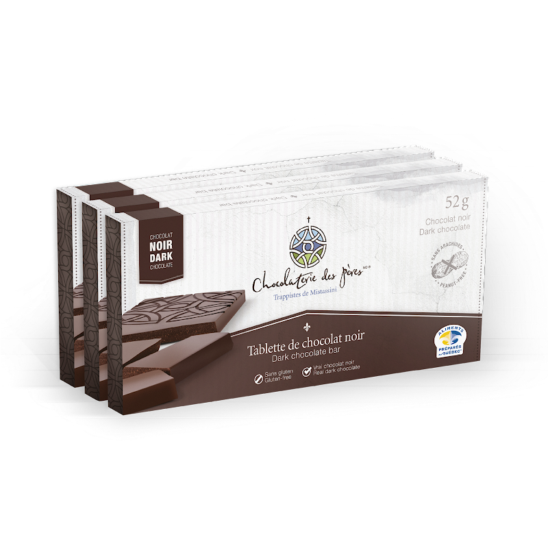 Chocolat Tablette de chocolat noir